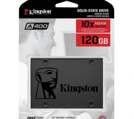 "Kingston 120GB A400 SSD 2.5"" SATA III Solid State Drive - 500MB/s"