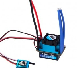 35A SL Brushless Speed Controller ESC for RC 1/10 1:10 1:12
